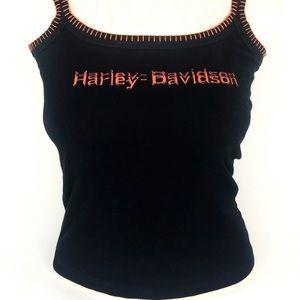 Harley-Davidson Tops - Harley Davidson Sm Black Sleeveless Tee